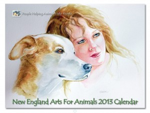 New England Arts for Animals 2013 Calendar is on sale