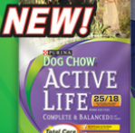 Free Sample of Purina Active Life dog food from Walmart.com
