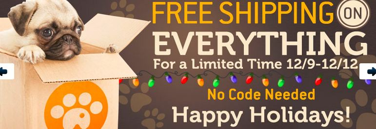 FREE Shipping on Everything for Dogs  at DealWagger!