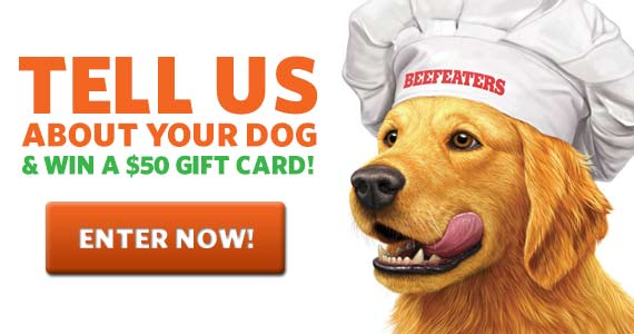 Win a $50 Gift Card from Beefeaters