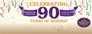 Old Mother Hubbard 90th Anniversary Party at Glouchester Dog Park