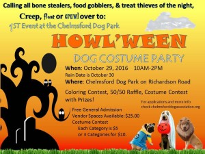 Chelmsford Dog  Park   Howl'ween  Contest 2016