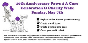 Paws 4 A Cure Celebration & Charity Walk 2017 in Wakefield MA